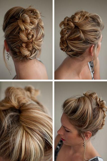 Sensational Updos Buns Long Hair Best Hairstyles 2017 Hairstyles For Women Draintrainus