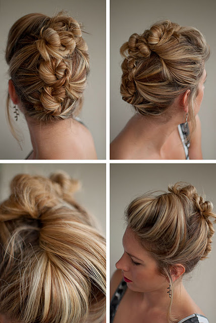 Fantastic Updos Buns Long Hair Best Hairstyles 2017 Hairstyles For Women Draintrainus