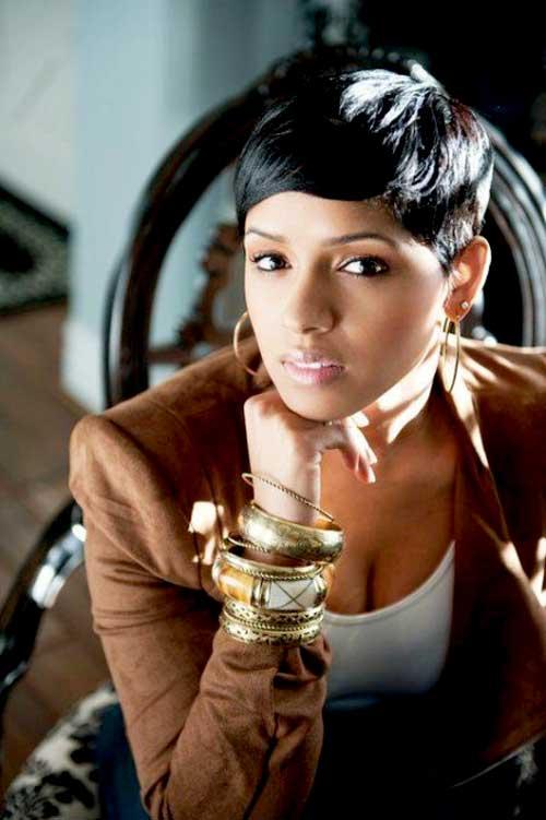 Sensational 25 Beautiful African American Short Haircuts Hairstyles For Short Hairstyles For Black Women Fulllsitofus