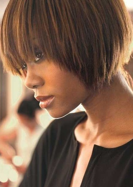 Cool 25 Beautiful African American Short Haircuts Hairstyles For Short Hairstyles For Black Women Fulllsitofus