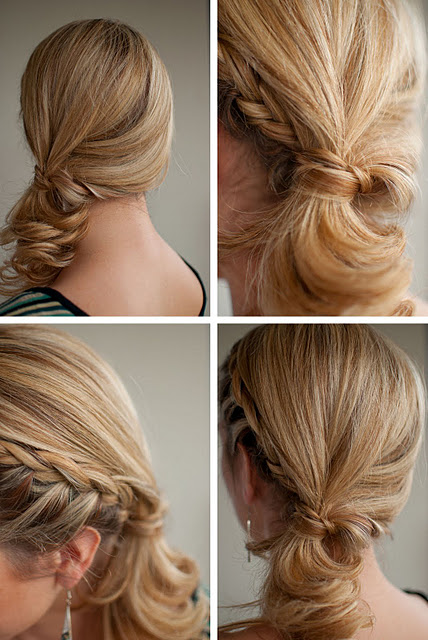 Summer Hair Ideas Stylish Side Ponytail Hairstyles With Braid