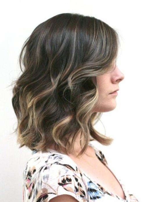 Soft Wavy Ombre Hair for Women