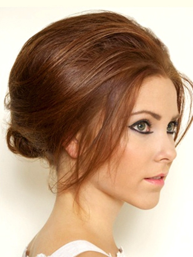 1970's modified beehive hairstyle