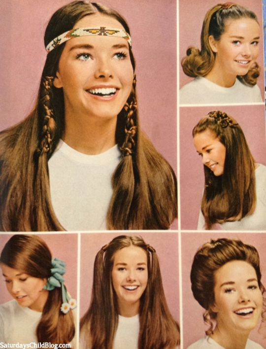 Groovy 70 S Makeup And Hair Tutorial Mugeek Vidalondon Hairstyle Inspiration Daily Dogsangcom