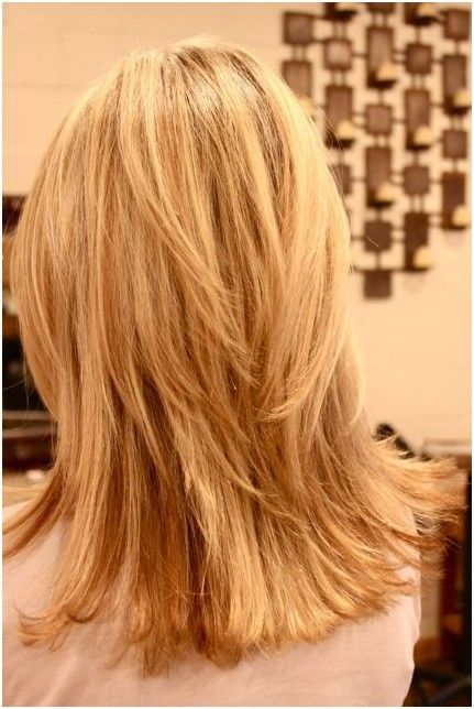Back View Of Layered Hairstyles For Girls Hairstyles Weekly