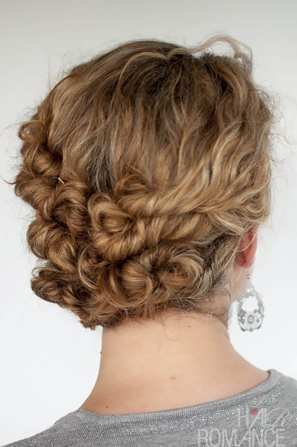 Hairstyles For Long Hair Easy Updos : Easy Hairstyles For Curly Hair (for Short, Long & Shoulder Length Hair ...