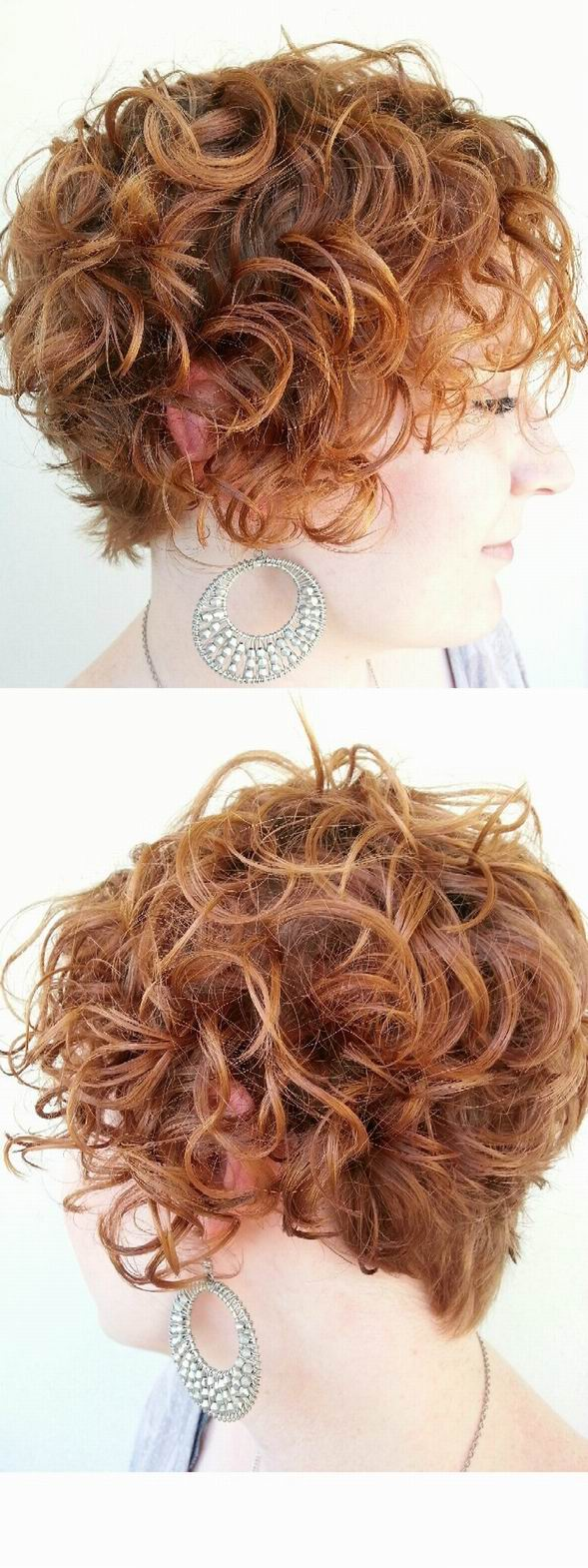 Cool 32 Easy Hairstyles For Curly Hair For Short Long Amp Shoulder Short Hairstyles Gunalazisus
