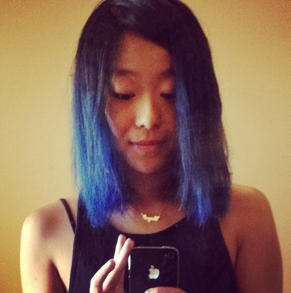 Black To Blue Ombre Hair For Shoulder Length Hair Hairstyles Weekly
