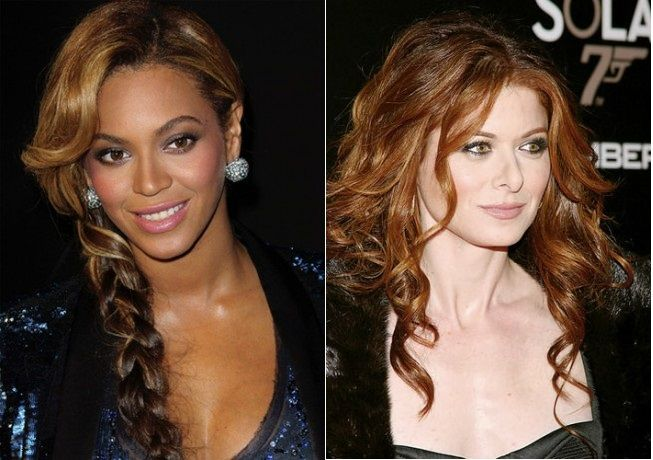 Celebrity Curly Hairstyles