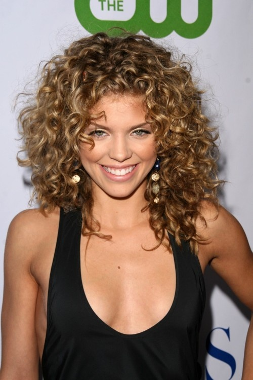 Curly Hairstyles For Short To Medium Length Hair : Easy hairstyles for curly hair short long shoulder length