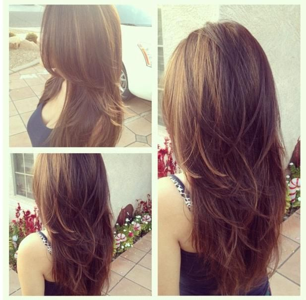 Long layered hair styles for teens