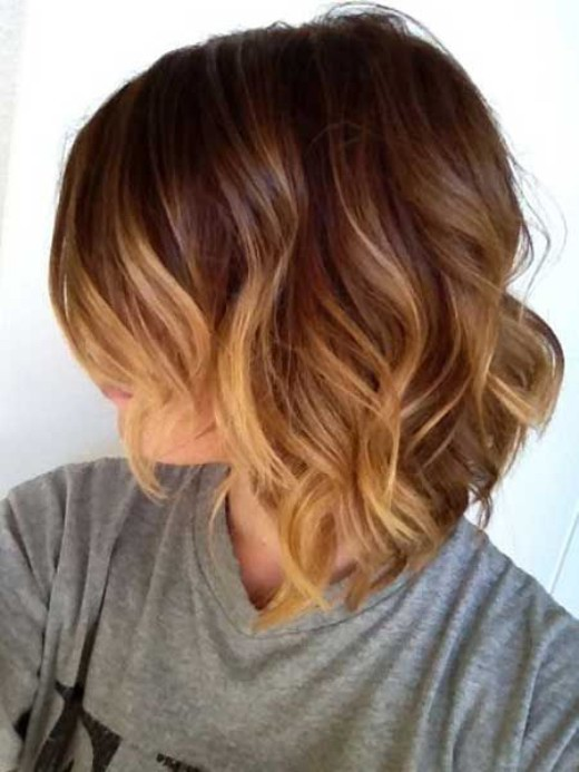 Cute Short Ombre Hair Hairstyles Weekly