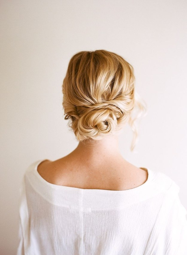 DIY Wedding Hairstyles: The Easy Updo for Wedding