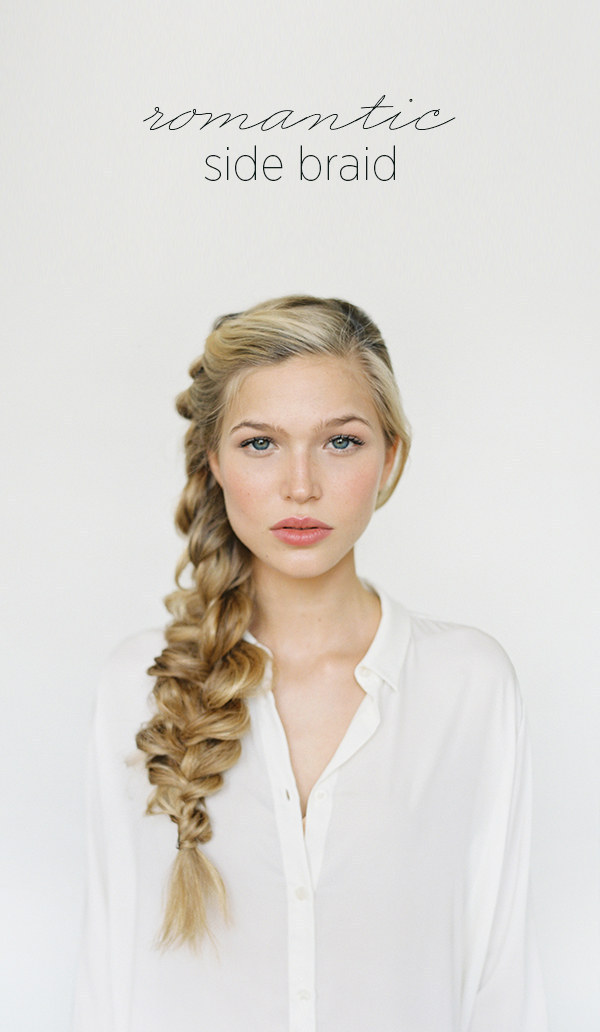 DIY Wedding Hairstyles: The Side Braid