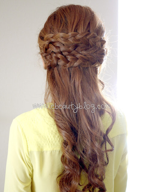 DIY Wedding Hairstyles: The Half Crown Braid