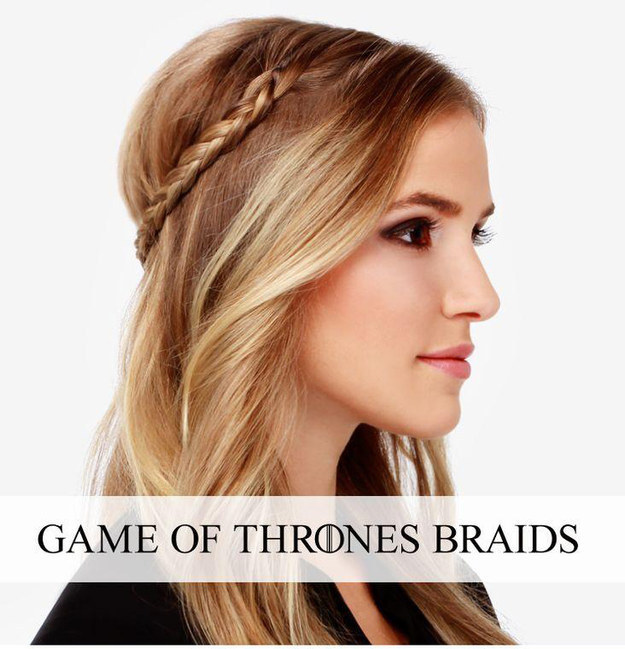 DIY Wedding Hairstyles: Cute The Thrones Braid for Wedding