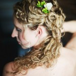 DIY Wedding Hairstyles: The Pulled Back Curls