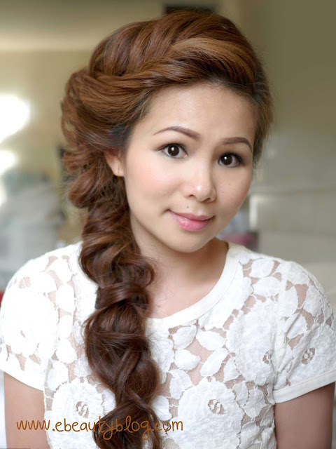 DIY Wedding Hairstyles: The Romantic Fishtail Braid for Asian Women