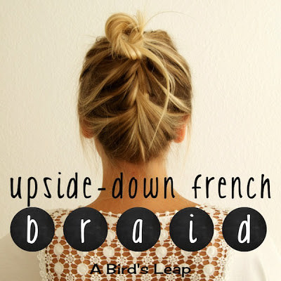 DIY Wedding Hairstyles: The Upside Down French Braid