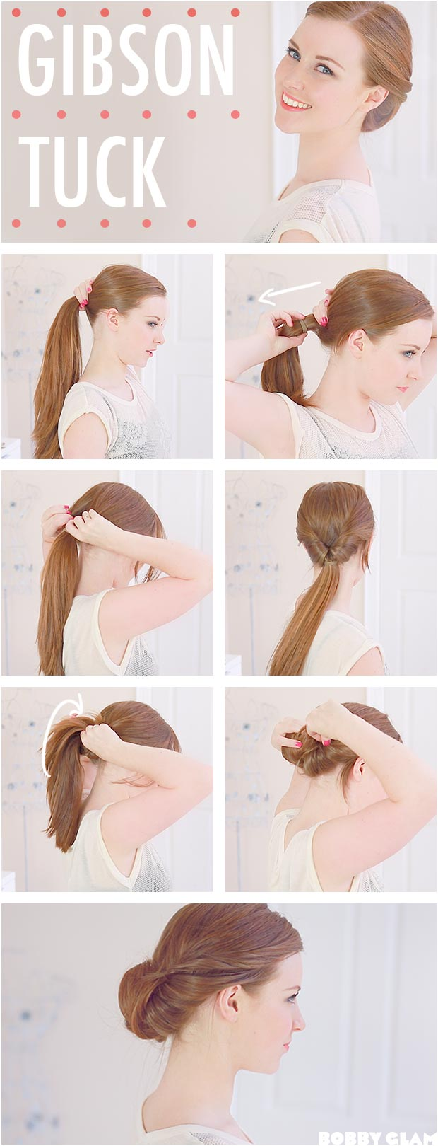 Hair Tutorials: 20 Ways to Style Your Hair in Summer - Hairstyles