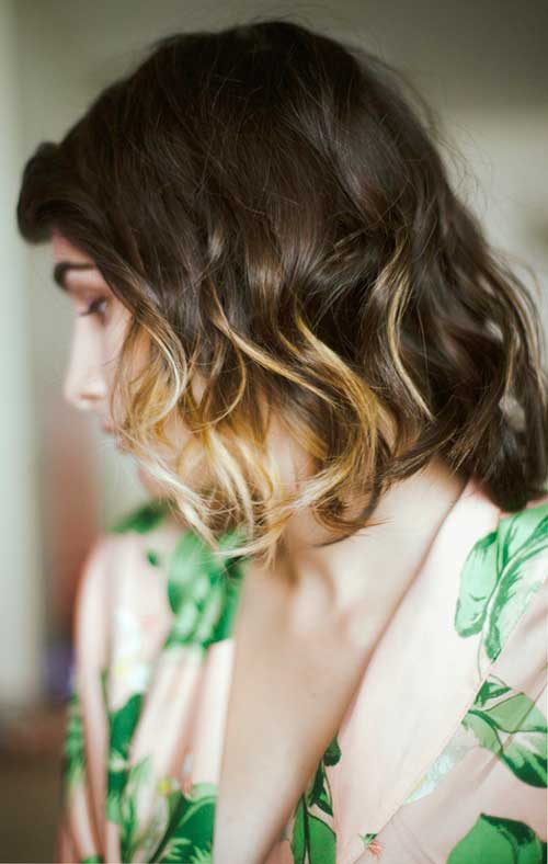 Cie Short Ombre Hair Color Ideas