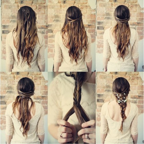 Hairstyle Tutorials How to Hairband Fishband for Summer
