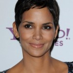 Halle Berry Casual Short Straight Pixie Cut for Black Women