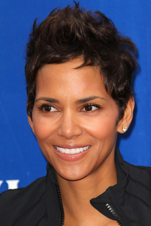 Halle Berry Spiky Pixie Cut for Short Hair