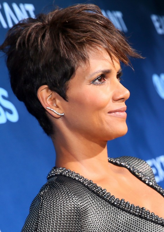 Tousled pixie cut for black women halle berry short haircut tousled pixie cut for black women halle berry short haircut urmus Image collections