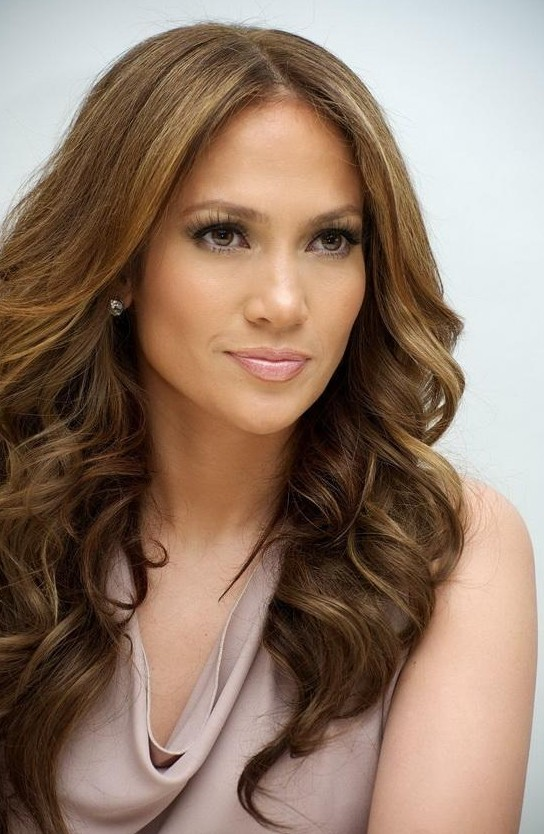 ... Long Wavy Hairstyle - Jennifer Lopez's Haircut - Hairstyles Weekly