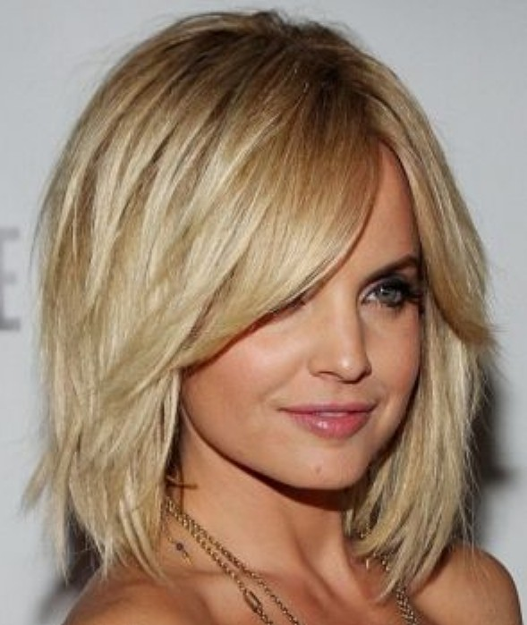 Marvelous Layered Bob Hairstyle For Thick Hair Hairstyles Weekly Hairstyles For Women Draintrainus
