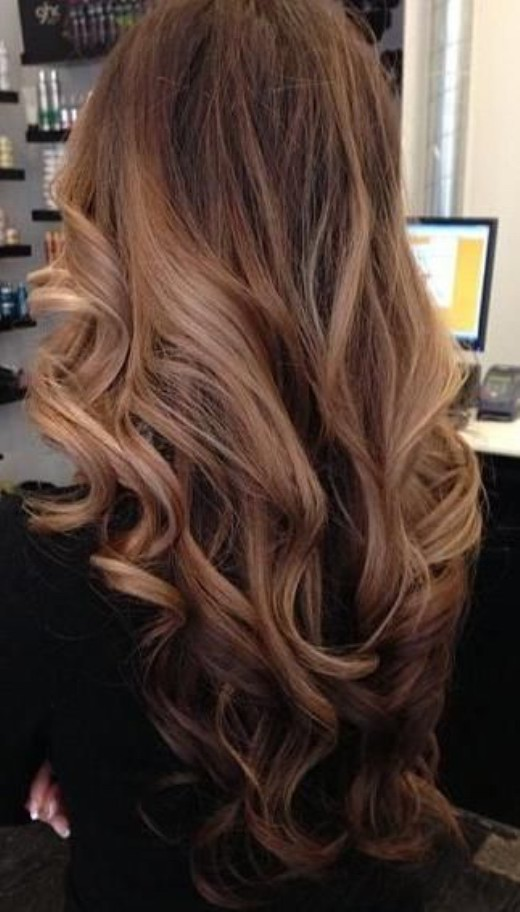 Color For Brunettes Ombre Hair Tumblr Red To Blonde Ombre Hair ...