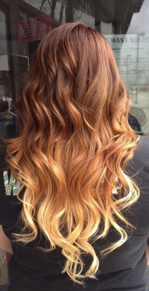 90 hottest ombre hairstyles for women ombre hair color ideas pretty brown to blonde ombre hair with waves for women urmus Image collections