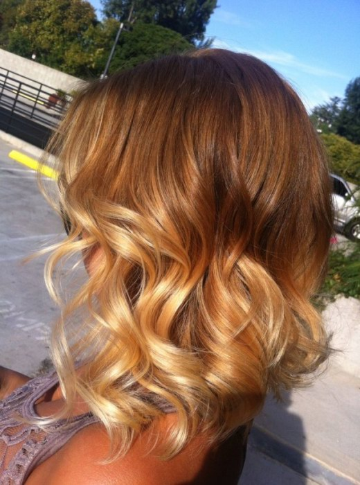 Short Layered Ombre Hair Hairstyles Weekly