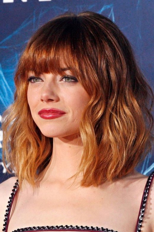 Cool Short Red Ombre Haircut With Bangs Hairstyles Weekly Short Hairstyles For Black Women Fulllsitofus
