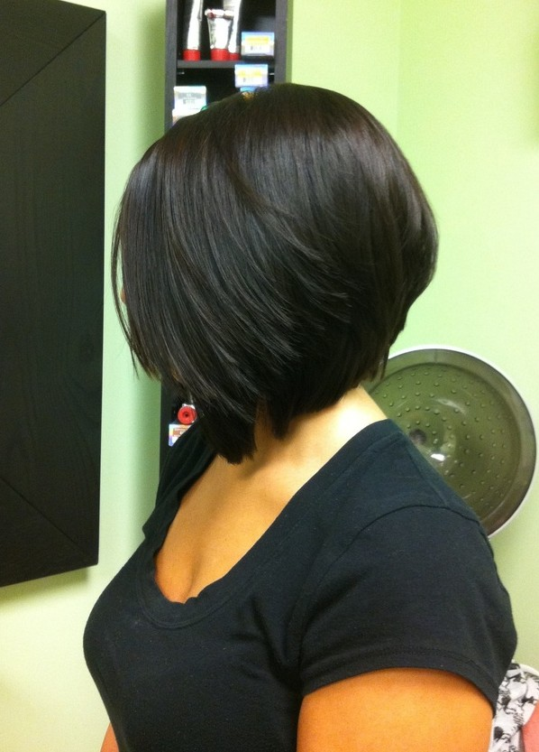 Admirable How To Cut An Angled Bob Haircut Best Hairstyles 2017 Short Hairstyles Gunalazisus