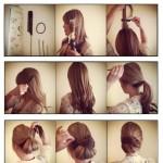 Updo Tutorial for Long Hair