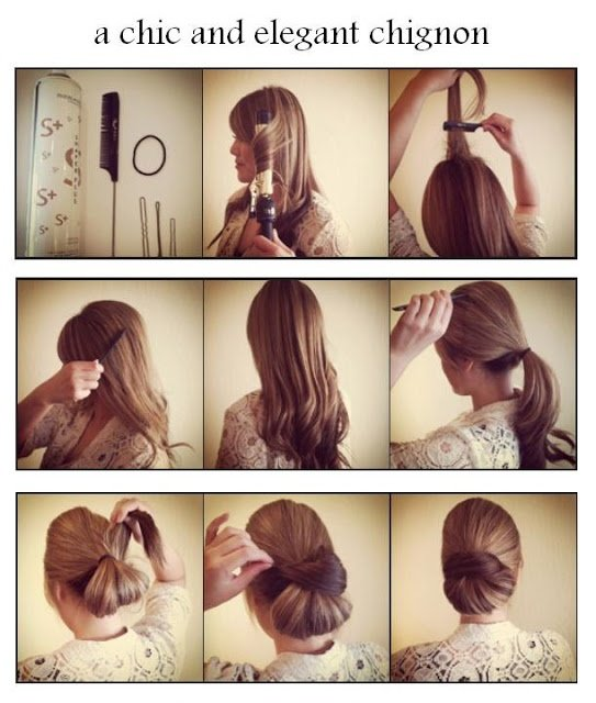 Updo Tutorial for Long Hair