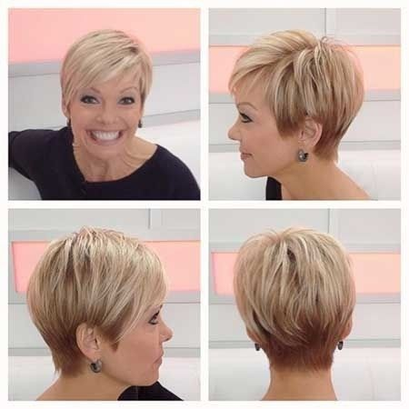 Cute Short Haircut with Side Swept Bangs for Women Best Short Haircuts ...