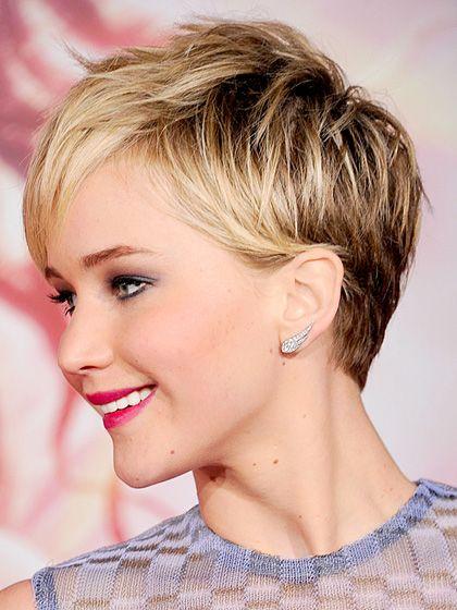 Celebrity Short Haircut for Summer
