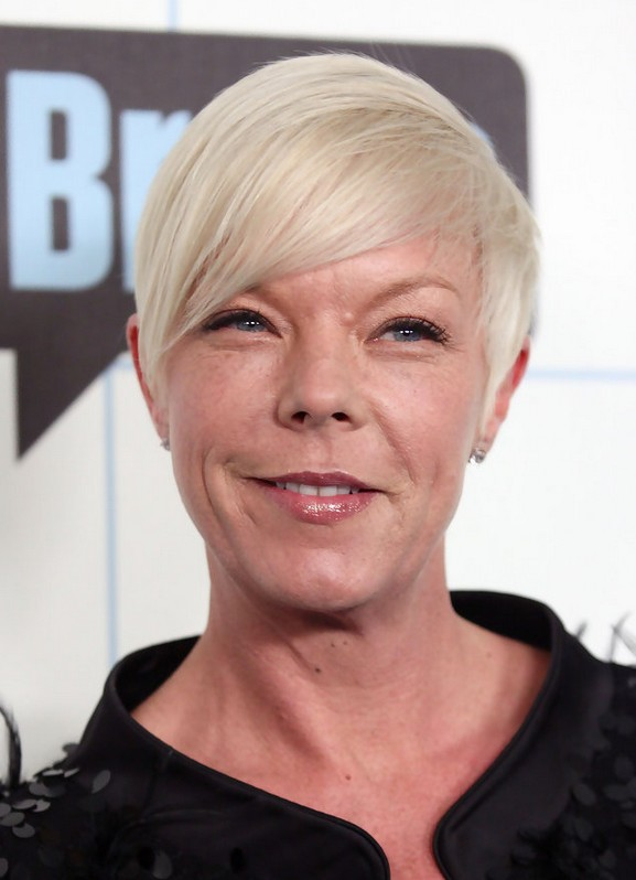 Tabatha Coffey Simple Short Boy Cut with Bangs for Women Over 40
