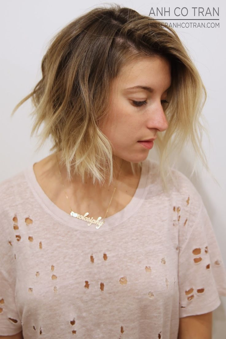 short ombre bob hairstyle 2016