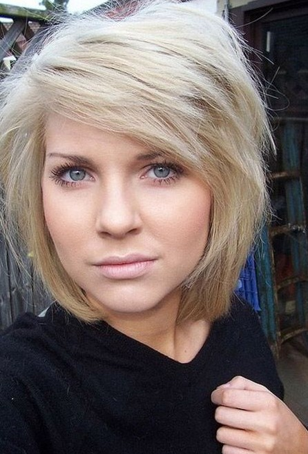 2014 Cute Bob Hairstyle for Thick Hair