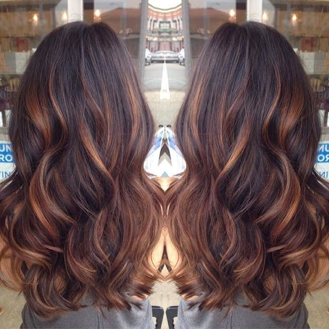 Brown Hair With Lowlights Pinterest