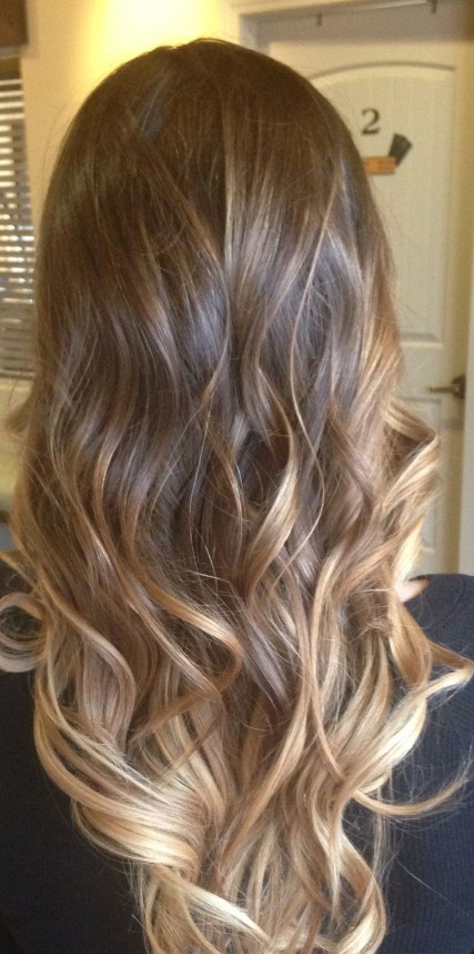balayage hair blonde balayage and ombre in hair