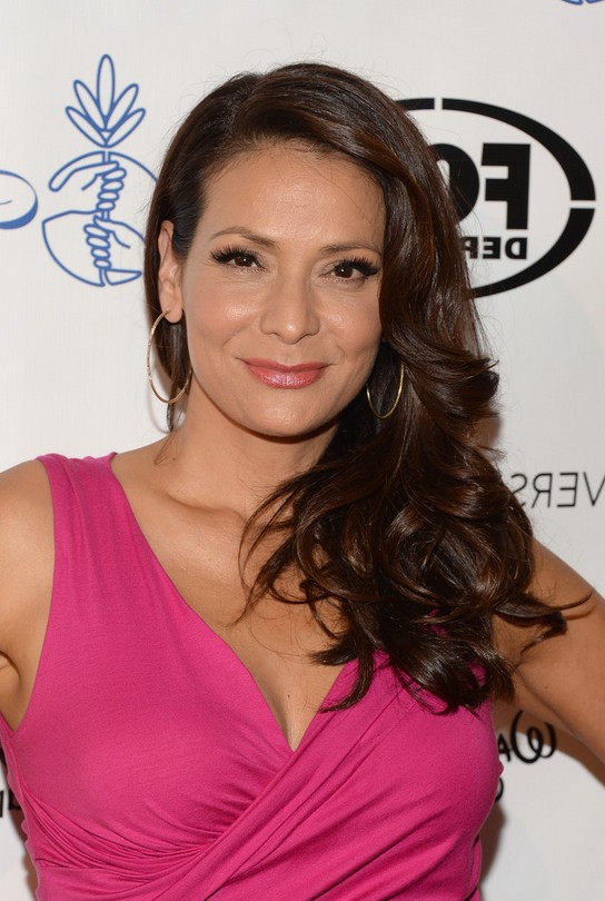Constance Marie Side Formal Hairstyle for Women Over 40