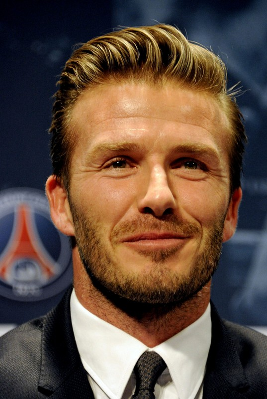 David Beckham Latest Hairstyle for Men