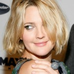 Drew Barrymore short hairstyle for women