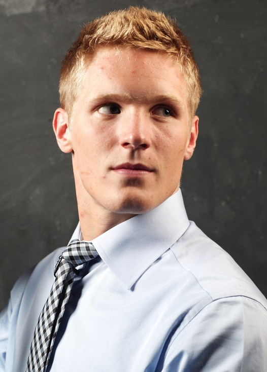 Gabriel Landeskog Short Spiked Hairstyle for Guys