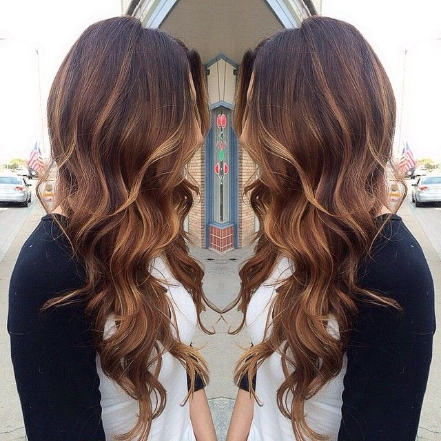 hair color ideas for long hair pinterest